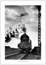 Flying Scotsman Historic 1934 Steam Train Photo Memorabilia (196)