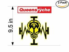 queensryche 2 Stickers 9.5 Inches Sticker Decal