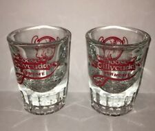 (2) Moose McGilycuddys Pub Cafe Hawaii Shot Glasses ~ Bar Barware Restaurant
