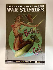 War Stories #1. Good Girl Nose Art Variant