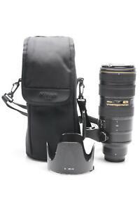 Nikon Nikkor AF-S 70-200mm f2.8 G II ED VR IF Lens AFS #029