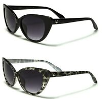 New Giselle Cat Eye Women's Ladies Brown Sunglasses. Free Pouch. GSL27002