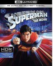 SUPERMAN THE MOVIE 1978(4K ULTRA HD+BLU-RAY+DIGITAL)W/SLIPCOVER NEW