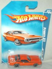 Hot Wheels 2008 All Stars '71 Plymouth GTX orange, excellent card