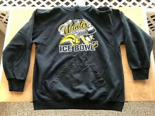 AUTHENTIC RARE NHL ICE BOWL BUFFALO SABRES vs. PENGUINS 2008 HOODIE HOODY LARGE