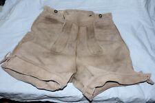 Urige, oft getragene kurze Lederhose - Größe ca. 50