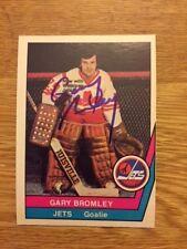 Winnipeg Jets Gary Bromley signed 1977 78 WHA  OPC Card