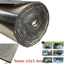 1.4m 5mm Heat Shield Mat Car Engine Noise Sound-Absorbing Pad Insulation Cotton