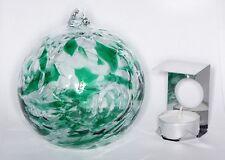 Milford Emerald May Birthstone Night Light Handmade Friendship Glass Globe Gift