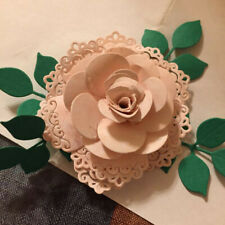 Layered Flower Leaves Metal Cutting Dies Stencil DIY  Scrapbooking Album Craft