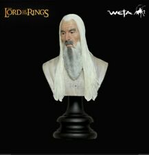 Lord of the Rings Sideshow Weta Saruman The White LOTR polystone bust figure