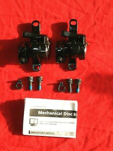 Pair F+R 2x Shimano BR-R517 Disc Brake Calipers Road Gravel CX PM NEW SRP £100