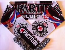 FK PARTIZAN Football Scarves New from Soft Luxury Acrylic Yarns