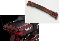 Black LED Tail Light Kit Trunk King Tour Pack Wrap Around for Harley Touring