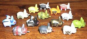 KIDROBOT Kozik Series Mini Lore Of The Labbit Figures x 14 Bundle - CHASE