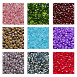 Rutkovsky 111-69004 Drop Pressed Beads Czech Glass 4mm 6mm Sizes 10g 20g Packs