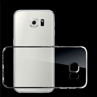 Clear Transparent Crystal Soft TPU Silicone Gel Cover Case Skin EB