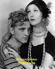 "PHILLIPS HOLMES & HELEN TWELVETREES 8X10 Lab Photo 1930 ""HER MAN"" Loving Embrace"