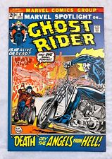 MARVEL SPOTLIGHT #6 GHOST RIDER COMICS 1972 MIKE PLOOG ART SATAN'S SERVANTS 1st