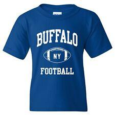 Buffalo Classic Football Arch American Football Team Sports Youth T-Shirt