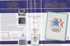 OLYMPIC GAMES LOS ANGELES 1984  VHS PAL VIDEO MINT SEALED