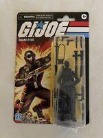 Hasbro 2020 GI Joe Snake Eyes 3.75 Inch Retro Figure Walmart Exclusive