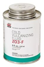 One 8 oz Can Rema 203-F Cold Vulcanizing Fluid Glue for tube patch repair