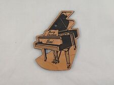 Personalized Piano Wooden Christmas Ornament (FREE SHIPPING)