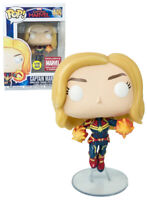 Funko POP!  Captain Marvel - Glow in The Dark - Collector Corps Exclusive #446