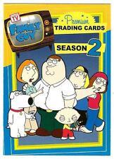 FAMILY GUY SEASON 2 Inkworks/2006 COMPLETE 72 TRADING CARD SET Seth MacFarlane