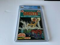 GHOSTS 19 CGC 9.6 WHITE PAGES RED HEAD SKELETON DC COMICS 1973