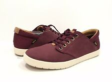 TEVA STERLING LACE MEN'S SNEAKERS BURGUNDY RED LEATHER -US SIZE 9 -NEW