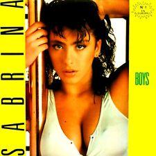 "12"" - Sabrina - Boys (ITALO DANCE) SPANISH EDIT.1987, MINT, LISTEN - NUEVO OYELO"