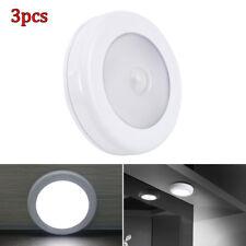 3x 6-LED veilleuses capteur mouvement clair lumière PIR intérieur extérieur