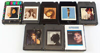 Barbara Streisand: A Star Is Born, Wet, Superman & More Lot Of 8 - 8 Track Tapes