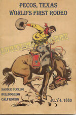 2018 Prescott Frontier Days® World/'s Oldest Rodeo® poster signed by the artist