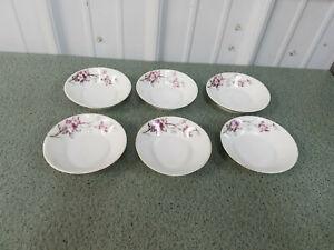 "Vintage Karlsbad BBD 4 3/4"" bowl  Set of 6"