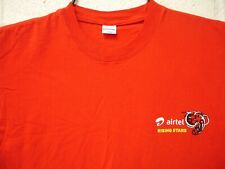 Airtel Rising Stars Soccer Football Academy T Shirt Large Red