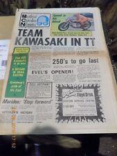 Motor Cycle news/5,2,1975/Z900 Racer/Drag Racing/BMW-Wasp/Harley-Davidson SS250