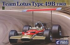 EBBRO 1/20 Team Lotus 49B 1969 Model Kit 20005 from Japan
