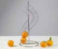 Portafrutta portarance porta frutta arance mele a spirale 684450 acciaio - Rotex