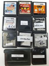 Lot of 11 Nintendo DS  GBA Games Pokemon Mario WWE Lego Tested Working *Rough*