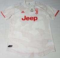 Adidas Men's Medium Juventus Away Authentic Soccer Jersey White DW5462 2019-2020