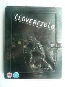 Cloverfield (Blu-ray, 2007) Matt Reeves, embossed STEELBOOK