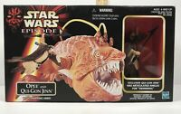 Star Wars Episode I Opee and Qui-Gon Jinn w/ Snapping Jaws