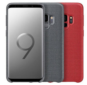 GENUINE Samsung Galaxy S9 / S9+ Hyperknit Fabric Qi Case Cover Official NEW Plus