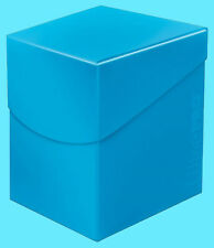 ULTRA PRO Deck Box ECLIPSE PRO-100+ SKY BLUE w/ DIVIDER card storage case ccg