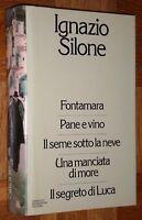 """IGNAZIO SILONE - Fontamara - Pane e vino +altri"" SuperOmnibus Mondadori 1ªEd."