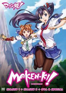 DVD Japanese Anime Maken-ki! Season 1+2 + OVA & Special English Dub Uncensored
