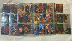 1995 Fleer Ultra Spider-Man Premiere Trading Card Set, Chase, Promo + Binder